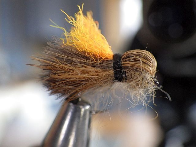 Avozetto webzine pêche mouche montage sedge renard