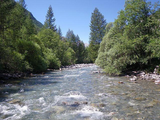 Avozetto reportages rivières les hautes alpes la biaysse