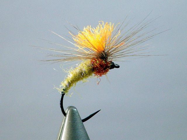 Avozetto webzine pêche mouche montage parachute