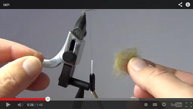 Avozetto webzine pêche mouche technique boucle dubbing