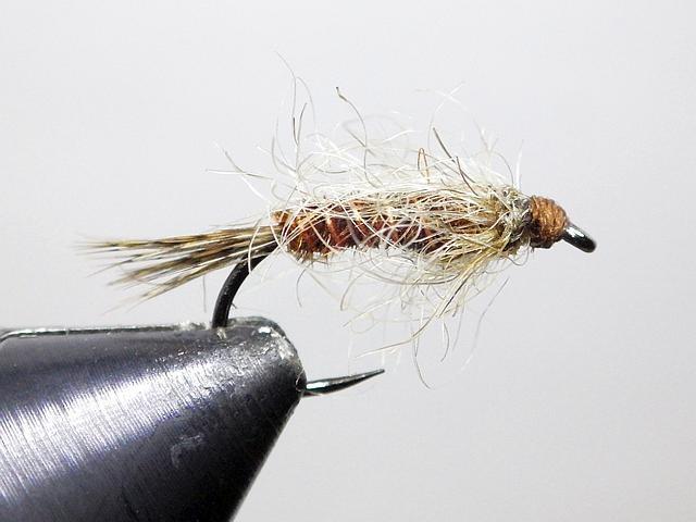 Avozetto webzine pêche mouche montage émergente bourre de sanglier