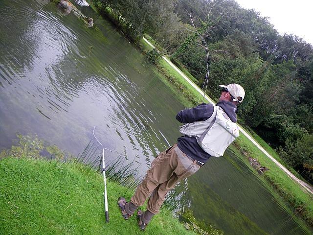 pêche mouche avozetto reportages réservoir le danica