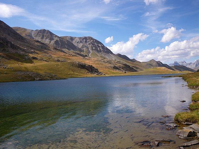Avozetto reportages coins de pêche lacs de montagne le lauzanier