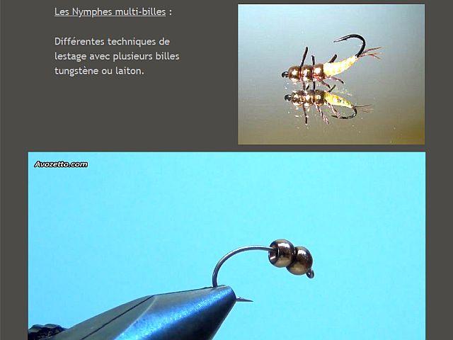 Avozetto webzine pêche mouche montage nymphe multi-billes